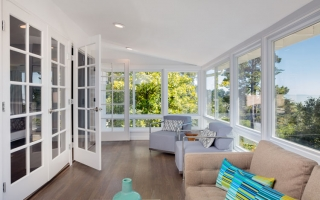 What are the benefits of triple-pane glass windows