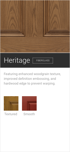 Heritage Entry Doors