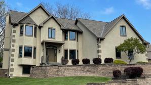 Trendy, Energy-Efficient Bronze Windows Update a Parkville, MO Home