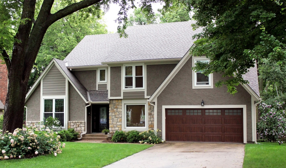 James Hardie Siding Updates an Overland Park Home Plagued with Woodpecker Damage and Wood Rot